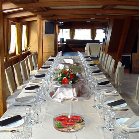 Corporate Event Boat