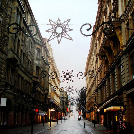 Photo. Helsinki, Christmas and New Year decoration